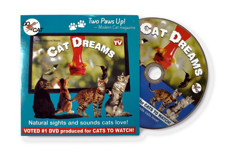 """GoCat """"Cat Dreams"""" DVD for Cats"""